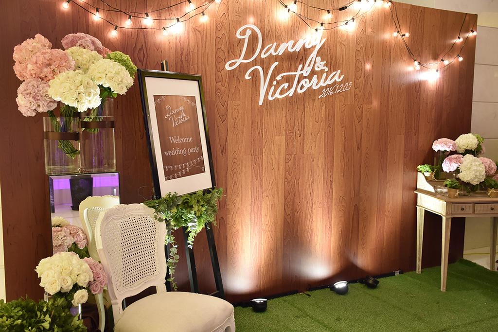 當代時尚,婚禮顧問,婚禮佈置,維多麗亞酒店,鄉村風