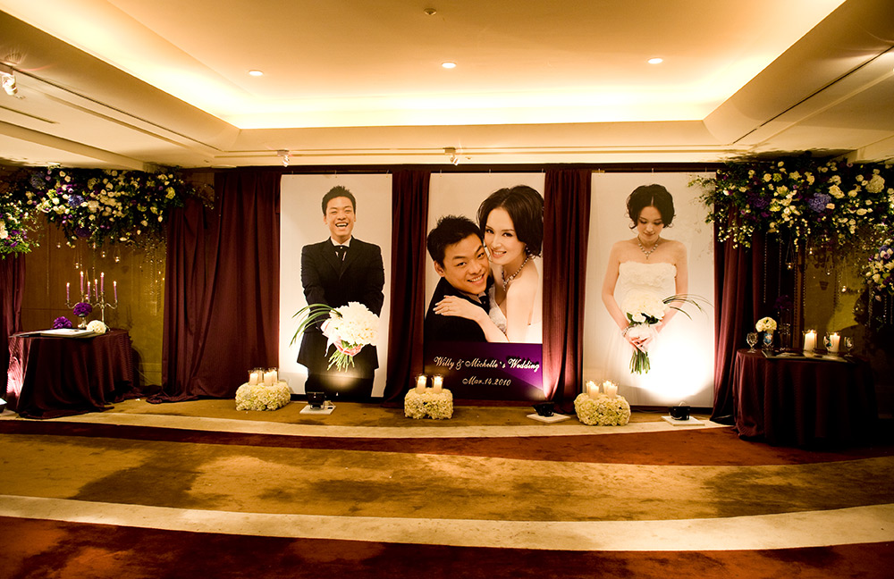 主題婚禮, Willy,Michelle